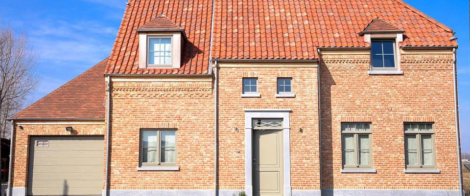 Nieuwbouw woning in landelijke stijl een jonge bouwfirma for Landelijke woning